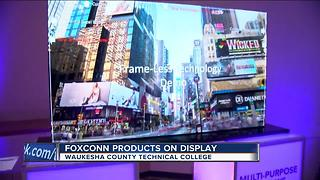 Foxconn shows off products at WCTC - Video