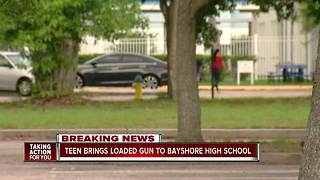 Student arrested with loaded gun on campus
