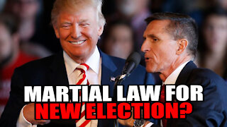 Trump Should Deploy Military to RERUN Election, Michael Flynn Says