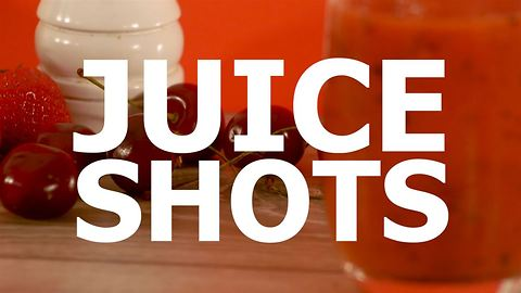 How to get into juicing: the cherry on top
