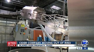 RiNo cidery leaving town