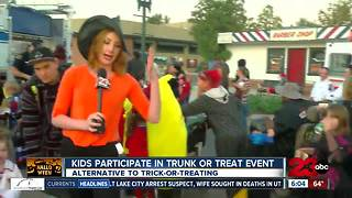 Trunk-or-Treat in Oildale filled with fun costumes - Video
