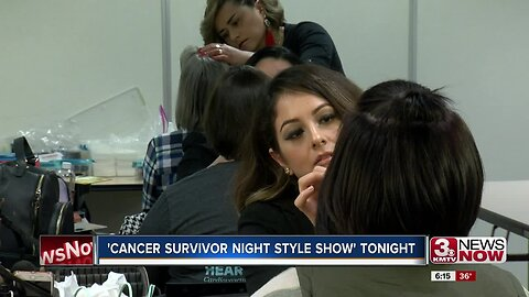 Cancer Survivor Night Style show held in Omaha