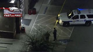 Police surround gas station near St. Rose Parkway, Spencer - Video