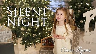 Four-Year-Old Talented Girl Gives Angelic Performance Of Silent Night