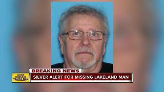 Silver Alert issued for missing 78-year-old Lakeland man - Video