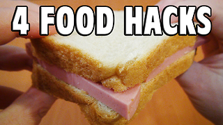 4 simple food hacks you need to know - Video