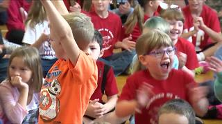 Andy Parker Announces Drake Elementary Weather Machine Winner - Video