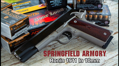 Springfield Armory Introduces Ronin 1911 In 10mm!