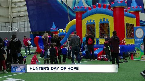 'Hunter's Day of Hope' celebrated in Orchard Park