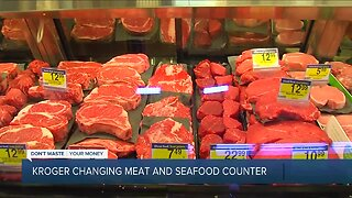 Kroger changing meat and seafood counters, hiring 10,000 workers