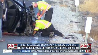 Jerald Holman sentenced in deadly crash - Video