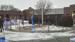 NWTC Honors Law Enforcement with Blue Light Display - Video