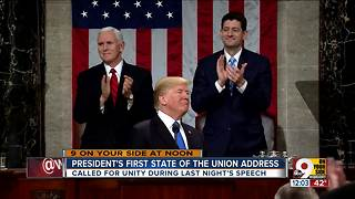 President's first State of The Union address - Video