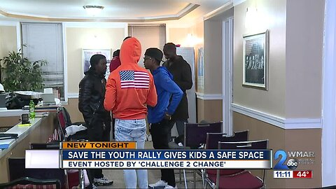 'Save the Youth Rally' gives kids a safe space