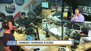 Mojo in the Morning: Hardest working states