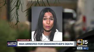 Man accused of killing grandma in Chandler - Video