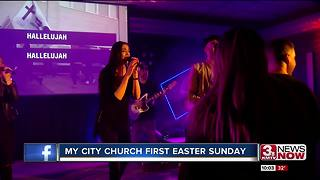 My City Church holds first Easter Sunday - Video