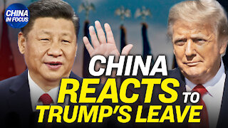 CCP's shocking response to Trump's departure; Billionaire resurfaces after mysterious disappearance