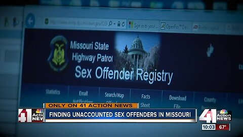Missouri makes progress in finding unaccounted sex offenders, auditor says