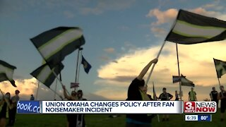 Union Omaha changes policy after fan noisemaker incident
