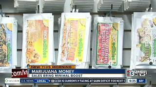 Legal marijuana sales only bringing small boost to states - Video