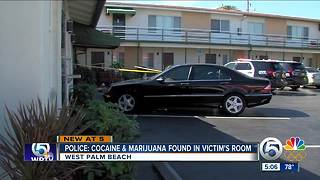 Police: Cocaine and marijuana found in victim's rooms - Video