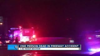 Greenfield man struck, killed while fueling disabled vehicle on I-43/94 - Video