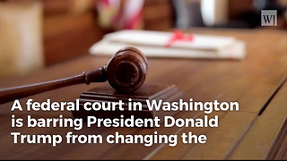 US Court Bars Trump From Banning Transgenders in the Military - Video