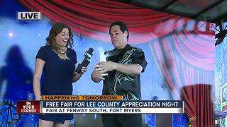 Lee County Appreciation night includes free fair - Video