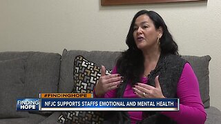 FINDING HOPE: NFJC supports their employees mental and emotional health