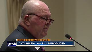 Idaho House panel reintroduces anti-Sharia law bill - Video