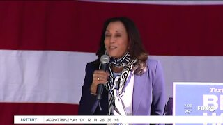 Kamala Harris makes final campaign stops