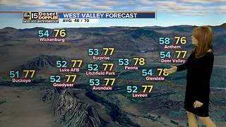 Cooler air has arrived in the Valley, but will it stick around? - Video