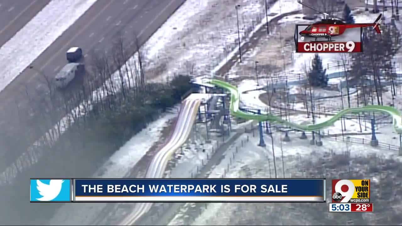 Beach Waterpark in Mason is for sale