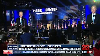 23ABC's political analyst breaks down what happens next for the president-elect