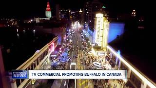 T.V. commercial promoting Buffalo in Canada - Video