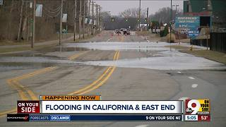 With river levels rising, California resident hopes his home stays dry - Video