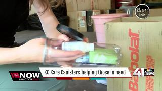 KC Kare Canisters helping those in need - Video