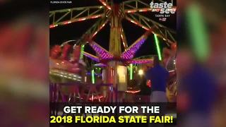 Get ready for the 2018 Florida State Fair | Taste and See Tampa Bay - Video
