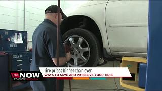 Tire prices higher than ever - Video