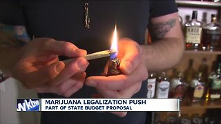 Recreational marijuana included in NYS budget