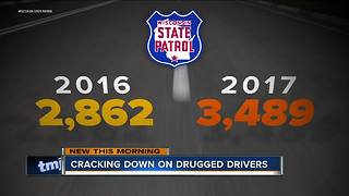Drugged driving arrests skyrocketing across Wisconsin