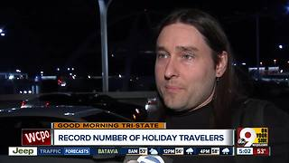Record number of holiday travelers expected