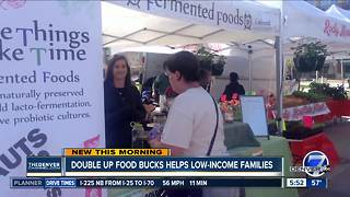 Double Up Food Bucks helps low-income families