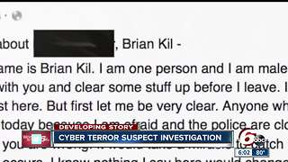 26-year-old from California charged in 'Brian Kil' Plainfield, Danville school threats case - Video