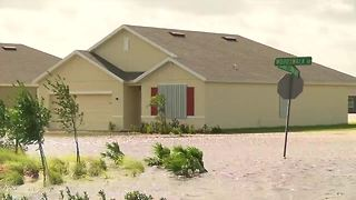 Neighborhoods flooded in St. Lucie County - Video
