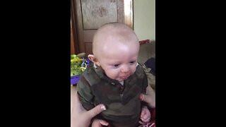 Baby Gets Emotional when he Thinks Mom is Crying