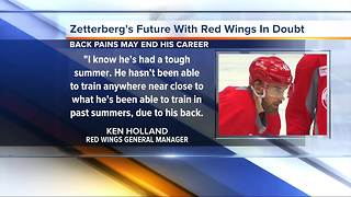 Zetterberg's future with Red Wings in doubt