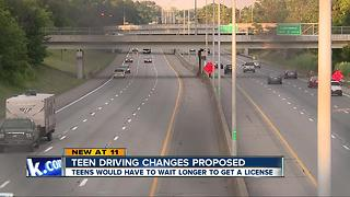 Ohio teens may have to wait longer to get a license - Video